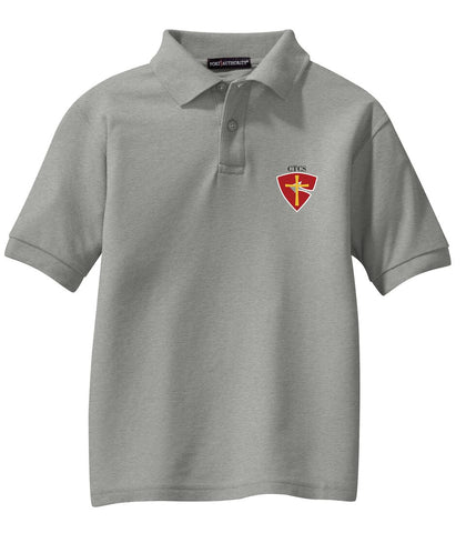 CTCS Youth Short-Sleeve Pique Polo