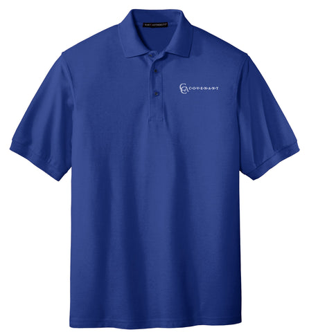 Adult Short-Sleeve Pique Polo l p