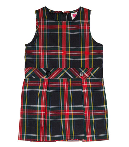 CTCS Girl's Plaid Jumper