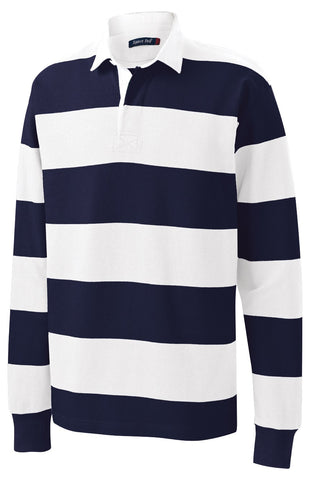 CCA Long-Sleeve Rugby Polo