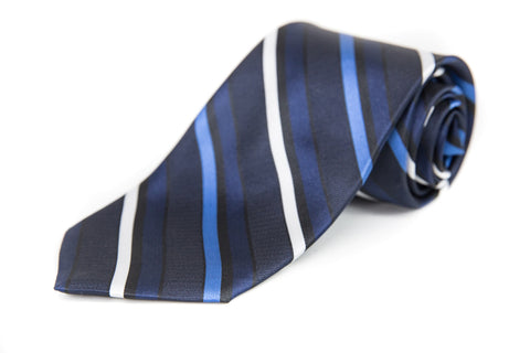 CCA Men's Striped Tie