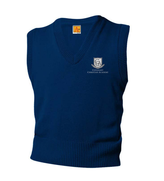 CCA Adult V-Neck Sweater Vest