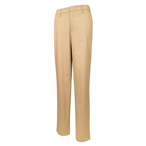 Girl's Modern Fit Flat-Front Stretch Twill Slacks
