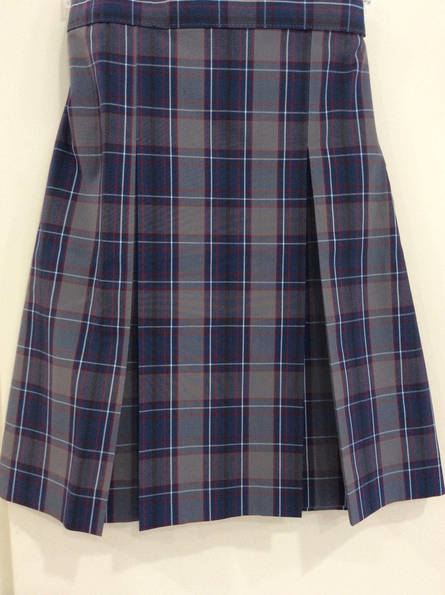 ALA Girl's Plaid Skirt - Half Size| A+