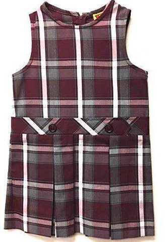 Westlake Academy Girl's Plaid Jumper