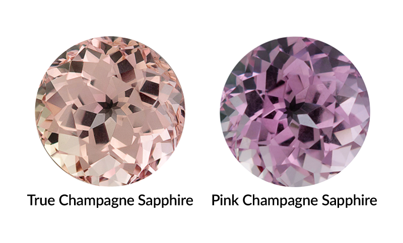 Champagne Sapphire is your gem because...