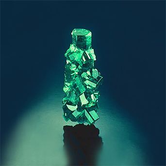 Carroll Chatham's first Emerald crystal growth