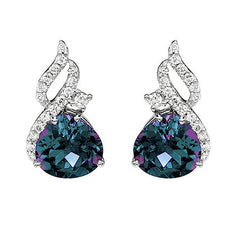 Alexandrite Earrings Onion
