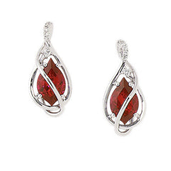 Ruby Earrings-CE3484WRU