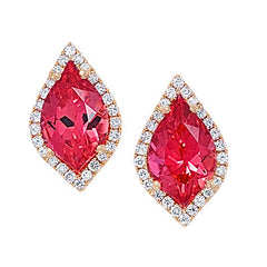 Padparadscha Earrings-CE3831YPD