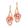 Champagne Sapphire Earrings-CE4258RCS