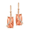 Champagne Sapphire Earrings-CE4265RCS
