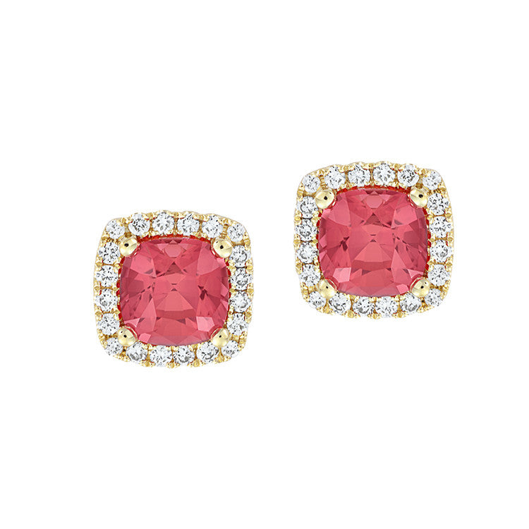 Padparadscha Earrings Century