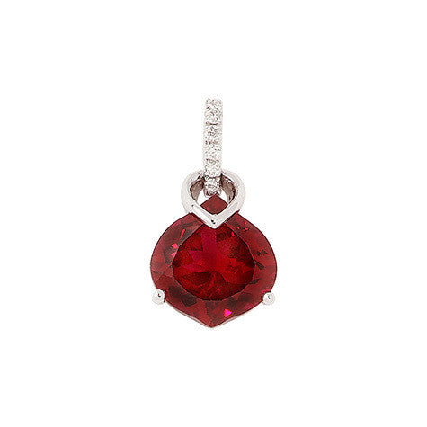Ruby Pendant Onion