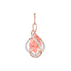 Champagne Sapphire Pendant-CP3897RCS