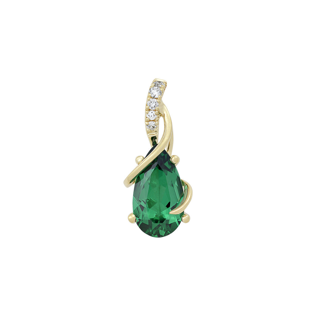 Emerald Pendant Pear