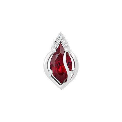 Ruby Pendant Flame
