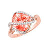 Champagne Sapphire Ring-CR10591RCS