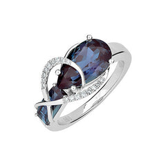Alexandrite Ring Pear