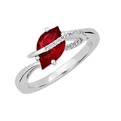 Ruby Ring Flame