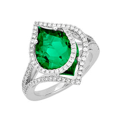 Emerald Ring Flame