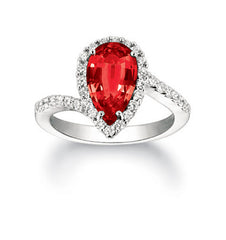 Ruby Ring Pear