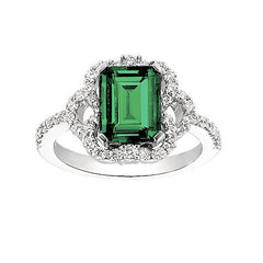 Emerald Ring Octagon