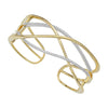 Diamond Fashion Cuff - FDC1232YW