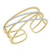 Diamond Fashion Cuff - FDC1233YW