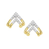 Diamond Fashion Earrings - FDE4500YW
