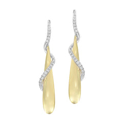 Diamond Fashion Earrings - FDE4506YW