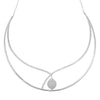 Diamond Fashion Necklace - FDNK1273W