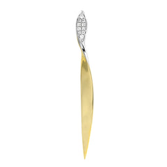Diamond Fashion Pendant - FDP4677YW