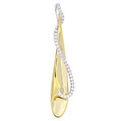 Diamond Fashion Pendant - FDP4680YW