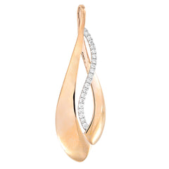 Diamond Fashion Pendant - FDP4687RW