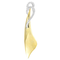 Diamond Fashion Pendant - FDP4690YW