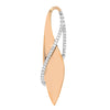Diamond Fashion Pendant - FDP4699RW