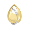 Diamond Fashion Pendant - FDP4775YW