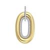 Diamond Fashion Pendant - FDP4802YW