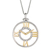 Diamond Clock Pendant