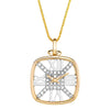 Lab Grown Diamond Clock Pendant