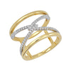 Diamond Fashion Ring - FDR14041YW