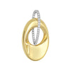 Diamond Fashion Pendant - FDP4806YW