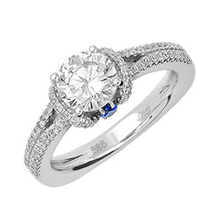 Bridal Ring-RE12628W10R