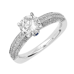 Bridal Ring-RE12629W10R