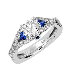Bridal Ring-RE12657W10R