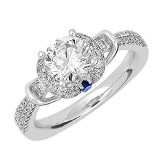 Bridal Ring-RE12667W10R