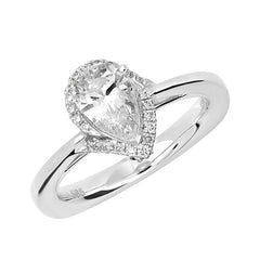 Bridal Ring-RE12672W10PS