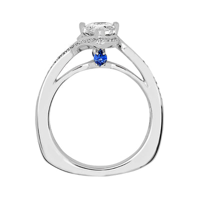 Bridal Ring-RE12674W10PS
