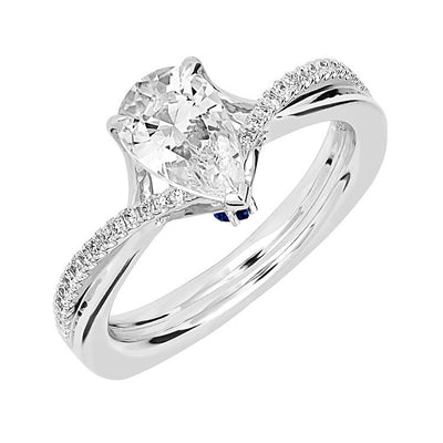 Bridal Ring-RE12677W10PS